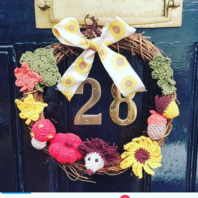 Autumn Wreath Thursday 7th November