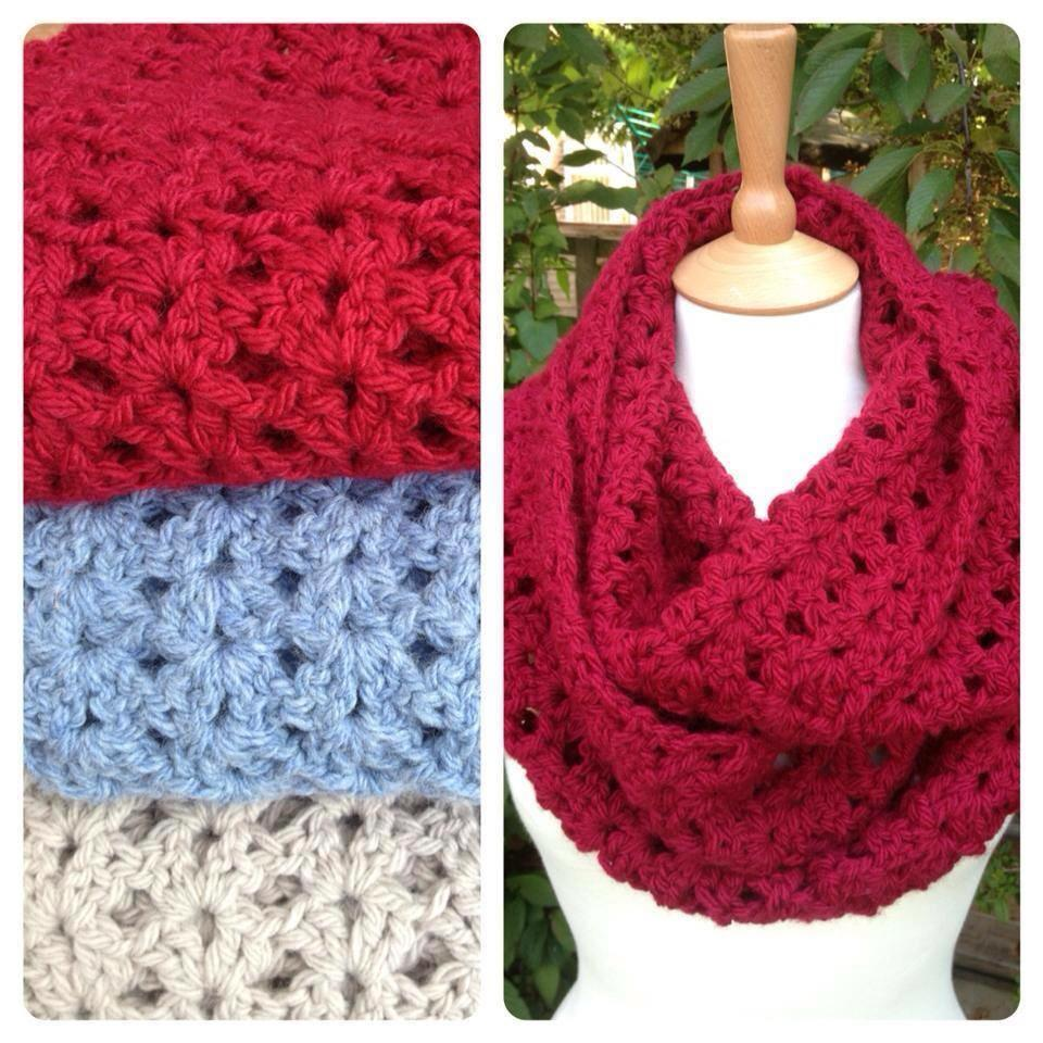 Cosy Crochet Cowl - 24th Oct