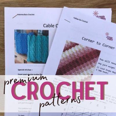 premium crochet patterns