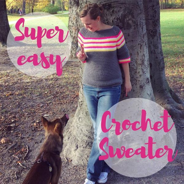Super Easy Crochet Sweater - 19th October
