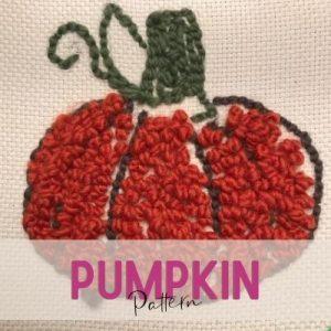 pumpkin punch needle