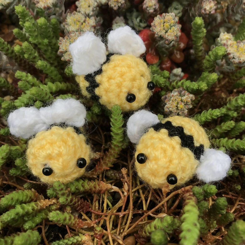 free crochet bee pattern